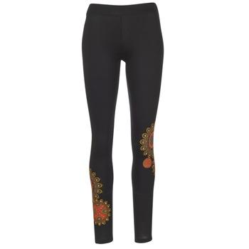 Kleidung Damen Leggings Desigual JULEF Schwarz
