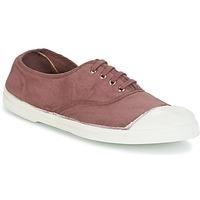 Schuhe Damen Sneaker Low Bensimon TENNIS LACET Pflaume