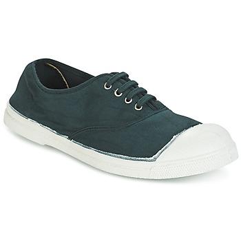 Schuhe Damen Sneaker Low Bensimon TENNIS LACET Grün