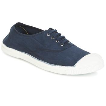Schuhe Herren Sneaker Low Bensimon TENNIS LACET Marine