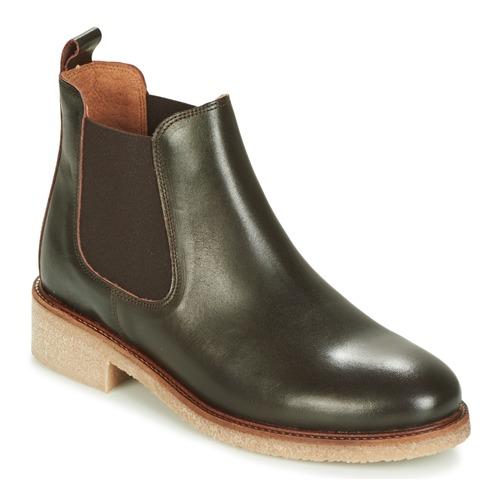 Bensimon BOOTS CREPE Braun Schuhe Boots Damen 82,50