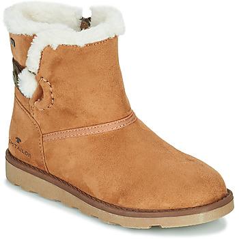 Schuhe Mädchen Boots Tom Tailor JAVILOME Braun