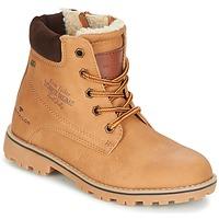 Schuhe Mädchen Boots Tom Tailor JOLUI Camel
