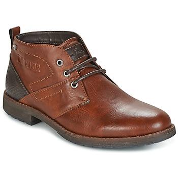Schuhe Herren Boots Tom Tailor LAORA Braun