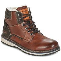 Schuhe Herren Boots Tom Tailor LORENZA Braun