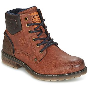Schuhe Herren Boots Tom Tailor TIAGO Braun