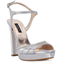 Schuhe Damen Sandalen / Sandaletten Albano RASO ARGENTO Grigio