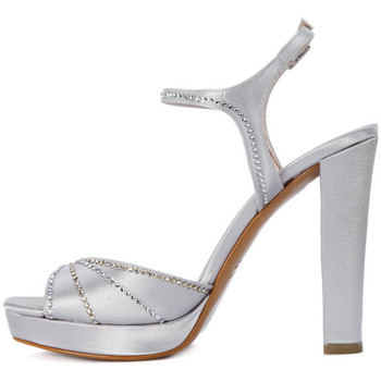 Albano RASO ARGENTO Grigio - Schuhe Sandalen / Sandaletten Damen 10900