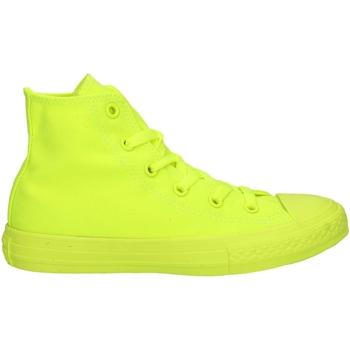 Schuhe Jungen Sneaker Low Converse 656853C Sneakers Junge Gelb fluo Gelb fluo