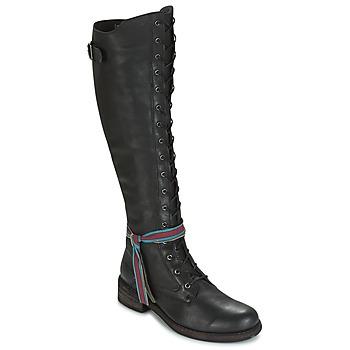 Schuhe Damen Kniestiefel Felmini HARDY Schwarz