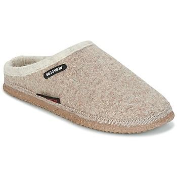 Schuhe Damen Hausschuhe Giesswein DANNHEIM Beige