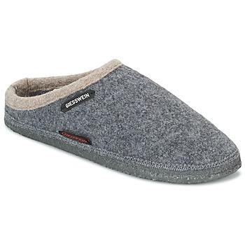 Schuhe Damen Hausschuhe Giesswein DANNHEIM Grau