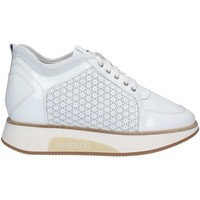 Schuhe Damen Sneaker Low Alberto Guardiani SD58545F Shoes with laces Frauen Bianco Bianco