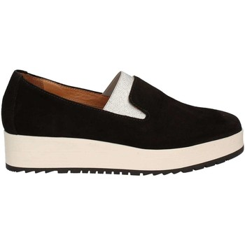 Schuhe Damen Slipper Carmens Padova A39079 Mocassins Frauen Black