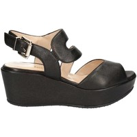 Schuhe Damen Sandalen / Sandaletten Grace Shoes SA19 Sandals Frauen Black