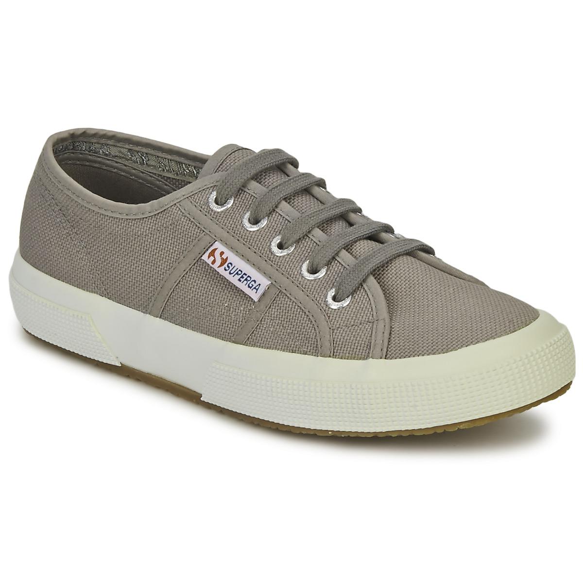 Superga 2750 CLASSIC Grau - Kostenloser Versand bei Spartoode ! - Schuhe Sneaker Low  47,99 €