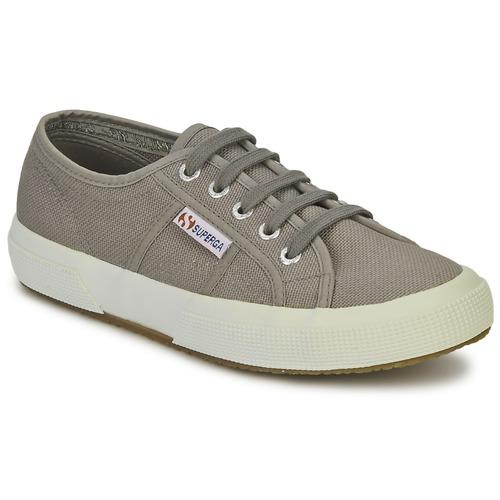 Superga 2750 CLASSIC Grau  Schuhe TurnschuheLow  47,99