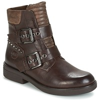 Schuhe Damen Boots Marco Tozzi POUDREE Braun
