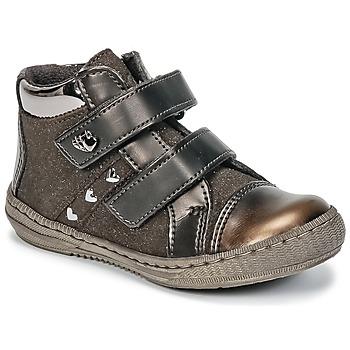 Schuhe Mädchen Boots Citrouille et Compagnie HOUPADI Braun