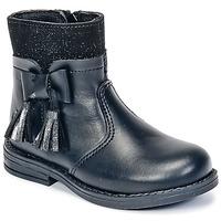 Schuhe Mädchen Boots Citrouille et Compagnie HEYLI Schwarz