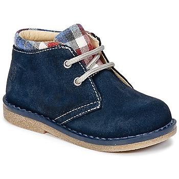 Schuhe Jungen Boots Citrouille et Compagnie HEYLI Marine