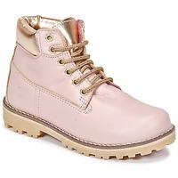 Schuhe Mädchen Boots Citrouille et Compagnie HICHOU Rose
