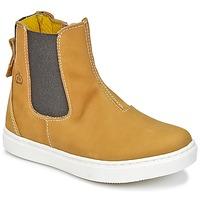 Schuhe Jungen Boots Citrouille et Compagnie HACHOU Braun