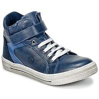 Schuhe Jungen Sneaker High Citrouille et Compagnie HOCHOU Marine