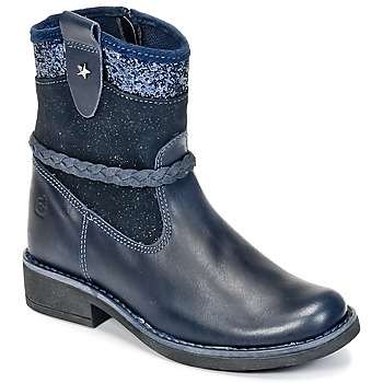 Schuhe Mädchen Boots Citrouille et Compagnie HAYO Blau