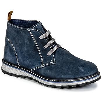 Schuhe Jungen Boots Citrouille et Compagnie HISEO Marine