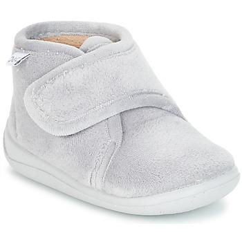 Schuhe Kinder Hausschuhe Citrouille et Compagnie HALI Grau