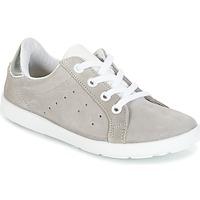 Schuhe Mädchen Sneaker Low Citrouille et Compagnie HINETTE Grau / Silbern