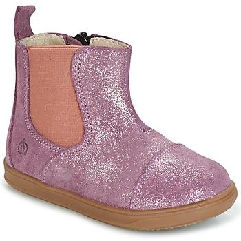 Schuhe Mädchen Boots Citrouille et Compagnie HUETTE Rose