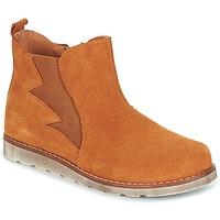 Schuhe Jungen Boots Citrouille et Compagnie HISSA Camel