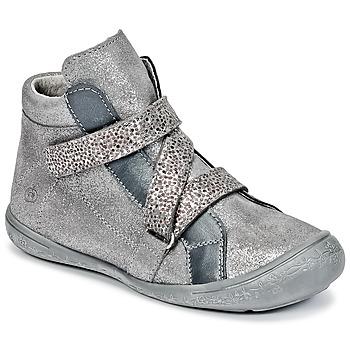 Schuhe Mädchen Sneaker High Citrouille et Compagnie HISSOU Grau