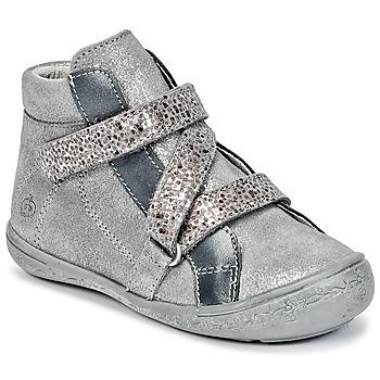 Schuhe Mädchen Boots Citrouille et Compagnie HISSOU Grau