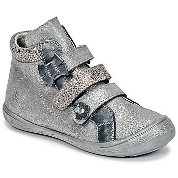 Schuhe Mädchen Boots Citrouille et Compagnie HODIL Grau