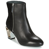 Schuhe Damen Low Boots United nude ICON BOOT MID Schwarz