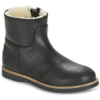 Schuhe Mädchen Boots Shabbies LOW STITCHDOWN LINED Schwarz