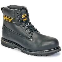 Schuhe Herren Boots Caterpillar HOLTON ST SB Schwarz