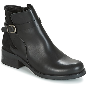 Schuhe Damen Low Boots Betty London HARRIS Schwarz