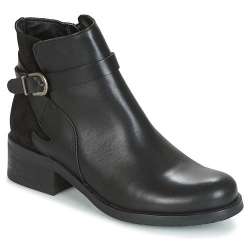 Betty London HARRIS Schwarz  Schuhe Low Boots Damen 69,99