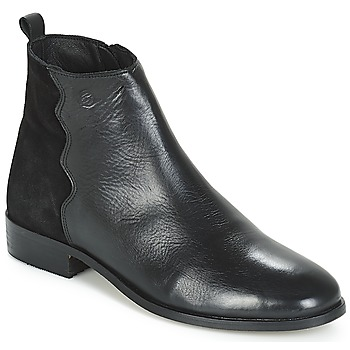 Schuhe Damen Boots Betty London HELOI Schwarz
