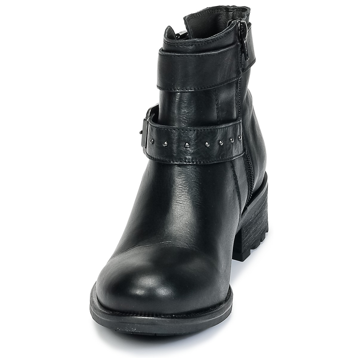 Keds CHAMPION LEATHER Schwarz - Kostenloser Versand bei Spartoode ! - Schuhe Sneaker Low Damen 59,99 €