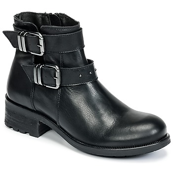 Schuhe Damen Low Boots Betty London HELIDI Schwarz
