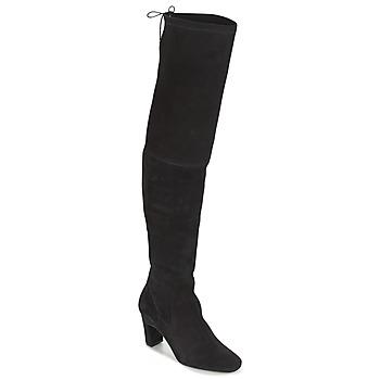 Schuhe Damen Kniestiefel Betty London HENNA Schwarz