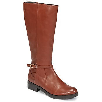 Schuhe Damen Klassische Stiefel Betty London HOVANI Camel