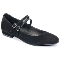 Schuhe Damen Ballerinas Betty London HYBO Schwarz