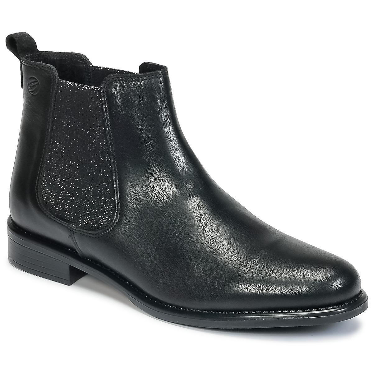 Betty London HAYATI Schwarz - Kostenloser Versand bei Spartoode ! - Schuhe Boots Damen 79,99 €