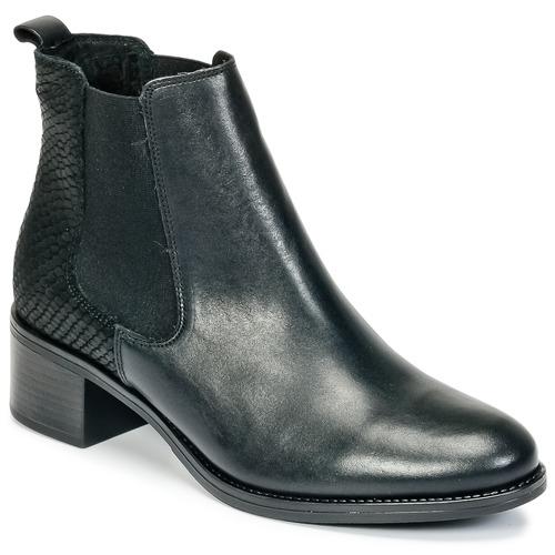 Betty London HASNI Schwarz  Schuhe Low Boots Damen 89,99
